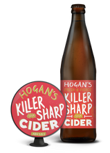 Load image into Gallery viewer, Hogans Killer Sharp Sour Cider (5.8% abv) 500ml