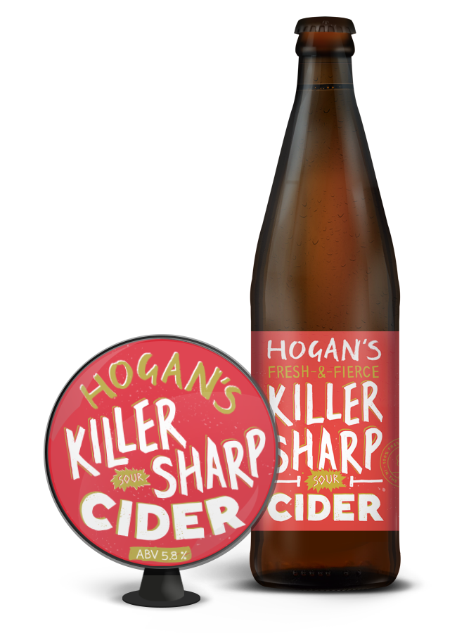 Hogans Killer Sharp Sour Cider (5.8% abv) 500ml