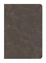 WFT Bible Brown Distressed Bonded - NKJV