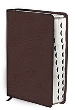 WFT Bible British Tan Cowhide Leather w/Index - NKJV