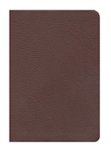 WFT Bible British Tan Genuine Cowhide Leather - NKJV