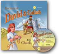 The Story of David and Goliath - HardbackIncludes Audio CD
