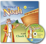 The Story of Noah - Hardback Includes Audio CD