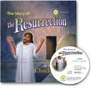 The Story of the Resurrection - Hardback Includes Audio CD
