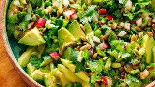 Crunchy Apple Avocados Salad