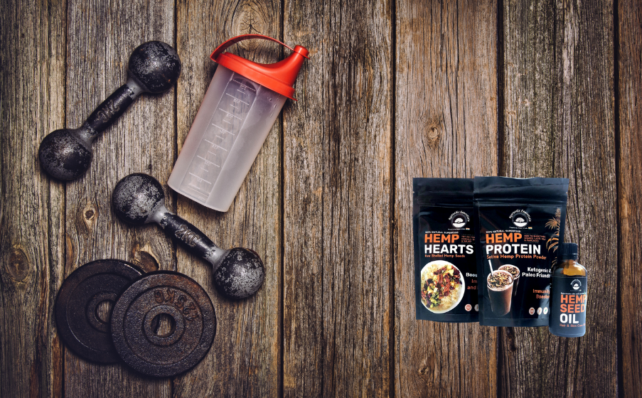 Start Your Fitness Journey With Hemp Products