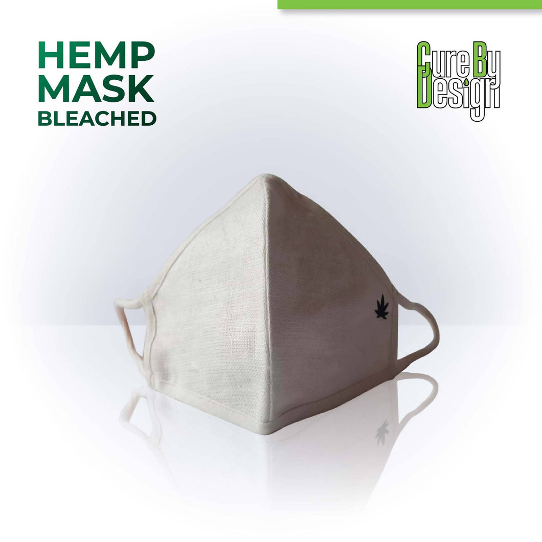 Cure By Design Hemp Masks - Bleached