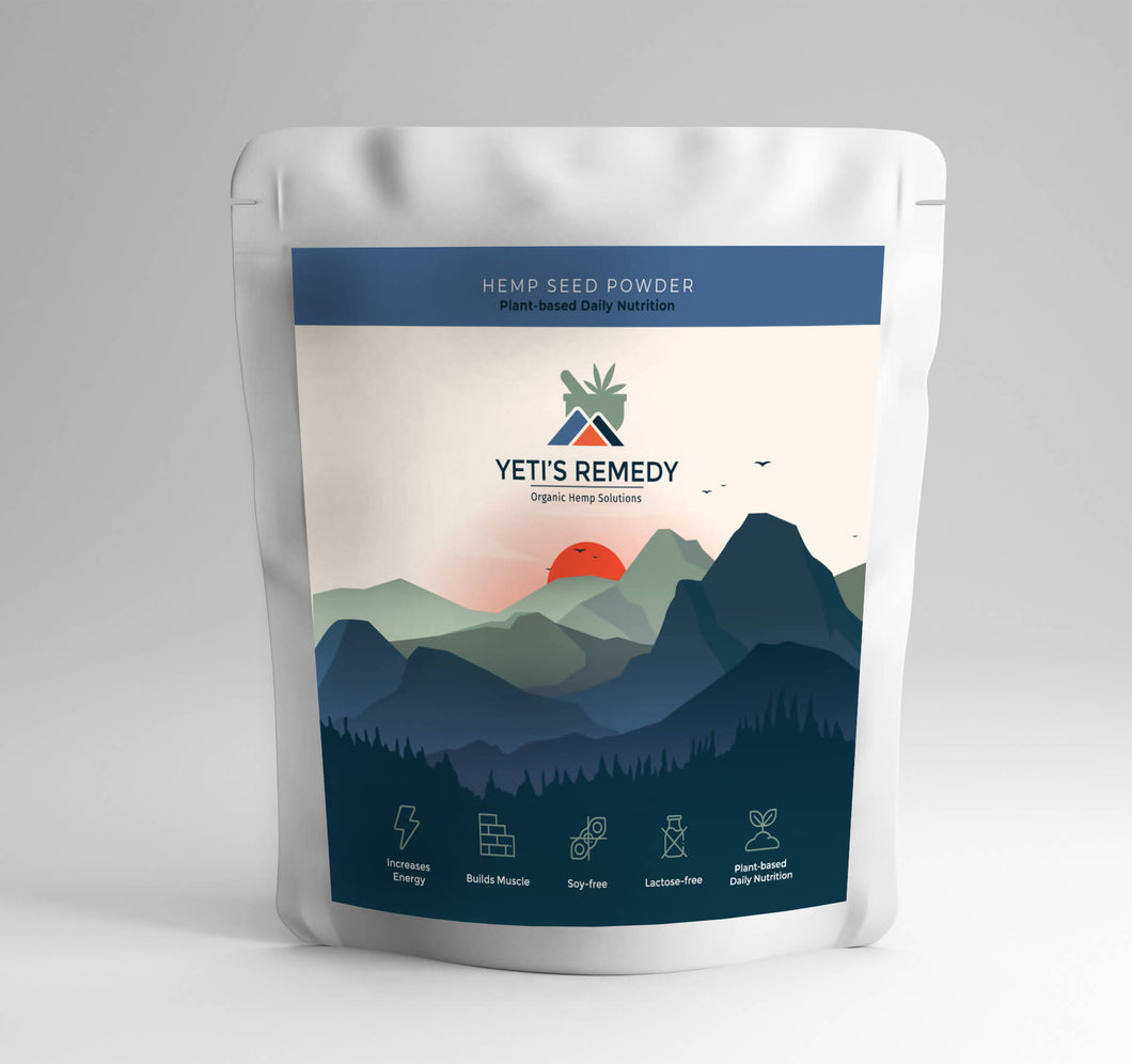 Yetis Remedy Hemp Powder | 500gm