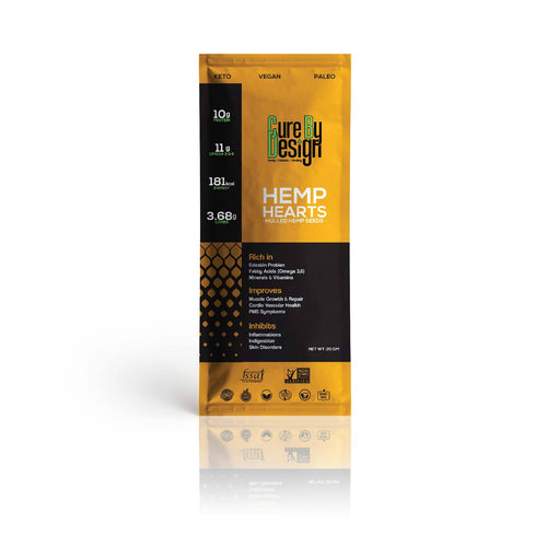 Cure By Design Hemp Hearts | 20Gm