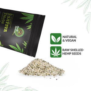 Ayurvedic Sativa Hemp Seeds (Hemp Hearts) Pack of 2 – 500gms Each