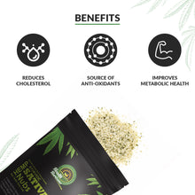Load image into Gallery viewer, Ayurvedic Sativa Hemp Seeds (Hemp Hearts) Pack of 2 – 500gms Each