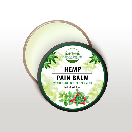 Hemp Healthy Harvest Hemp Pain Balm