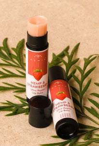 Hemis Hemp and Strawberry Lip Balm