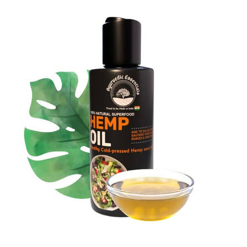 Ayurvedic Essentials | Natural  Hemp Seed Oil