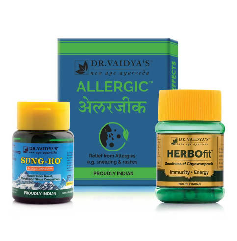 Allergy & Cold Pack – Dr. Vaidya's Ayurvedic Pack