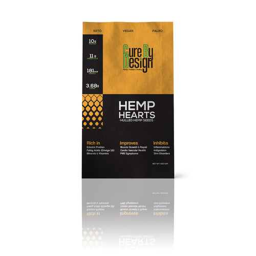 Cure By Design Hemp Hearts | 500gm