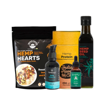 Load image into Gallery viewer, Hemp & Hempstrol Healthy Bliss Bundle