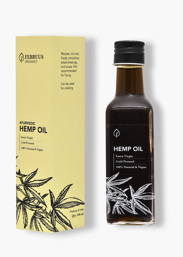 Februus Organics Hemp Oil | 100ML