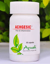 Load image into Gallery viewer, Ayush Herbs Achgesic (Shallaki) Capsules – Joints Pain And Inflammation