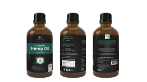 Health Horizons Ayurvedic Hemp Seed Oil | Skin & Hair | 100ml