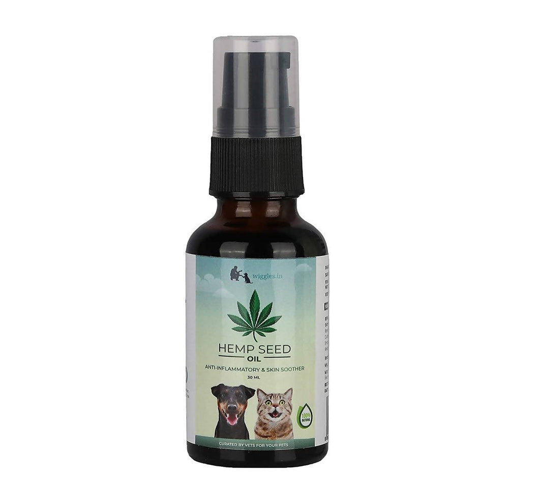 Wiggles Hemp Seed Oil for Dogs and Cats | 30ml - Dogs and Cats