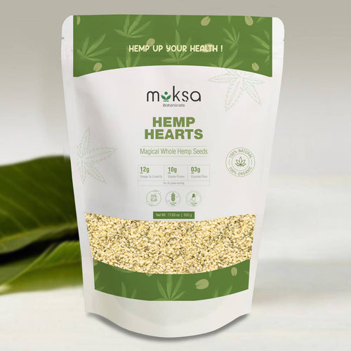 Moksa Hemp Hearts | 500 Gm