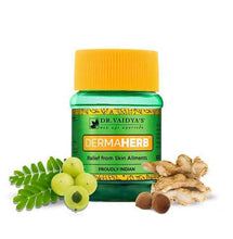 Load image into Gallery viewer, Dr. Vaidya's Dermaherb Pills - Ayurvedic Pills for Skin Allergies & Eczema - Pack of 2
