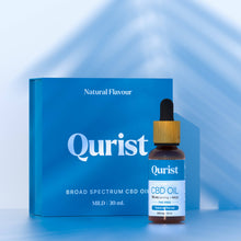 Load image into Gallery viewer, Qurist Mild Natural Flavour CBD - 30ml 500mg