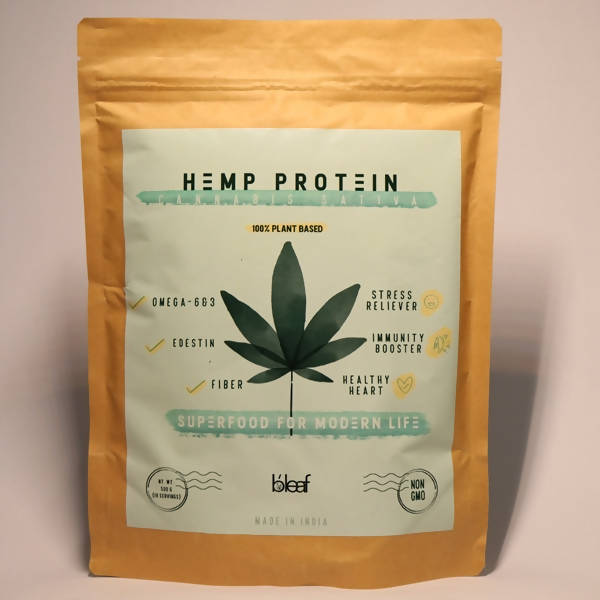 Bleaf Hemp Seed Powder | 150 gm