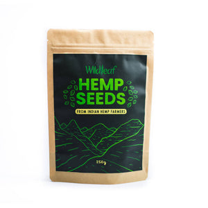 Wildleaf Hemp Seeds -250gm