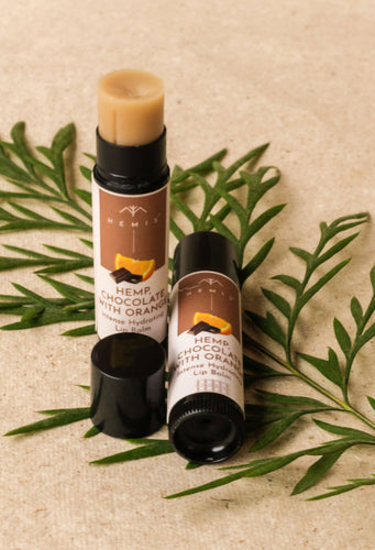 Hemis Hemp Chocolate and Orange Lip Balm