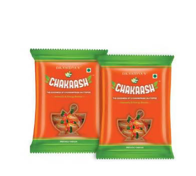 Chakaash: Ayurvedic Toffee with Chyawanprash Ingredients – Pack of Two
