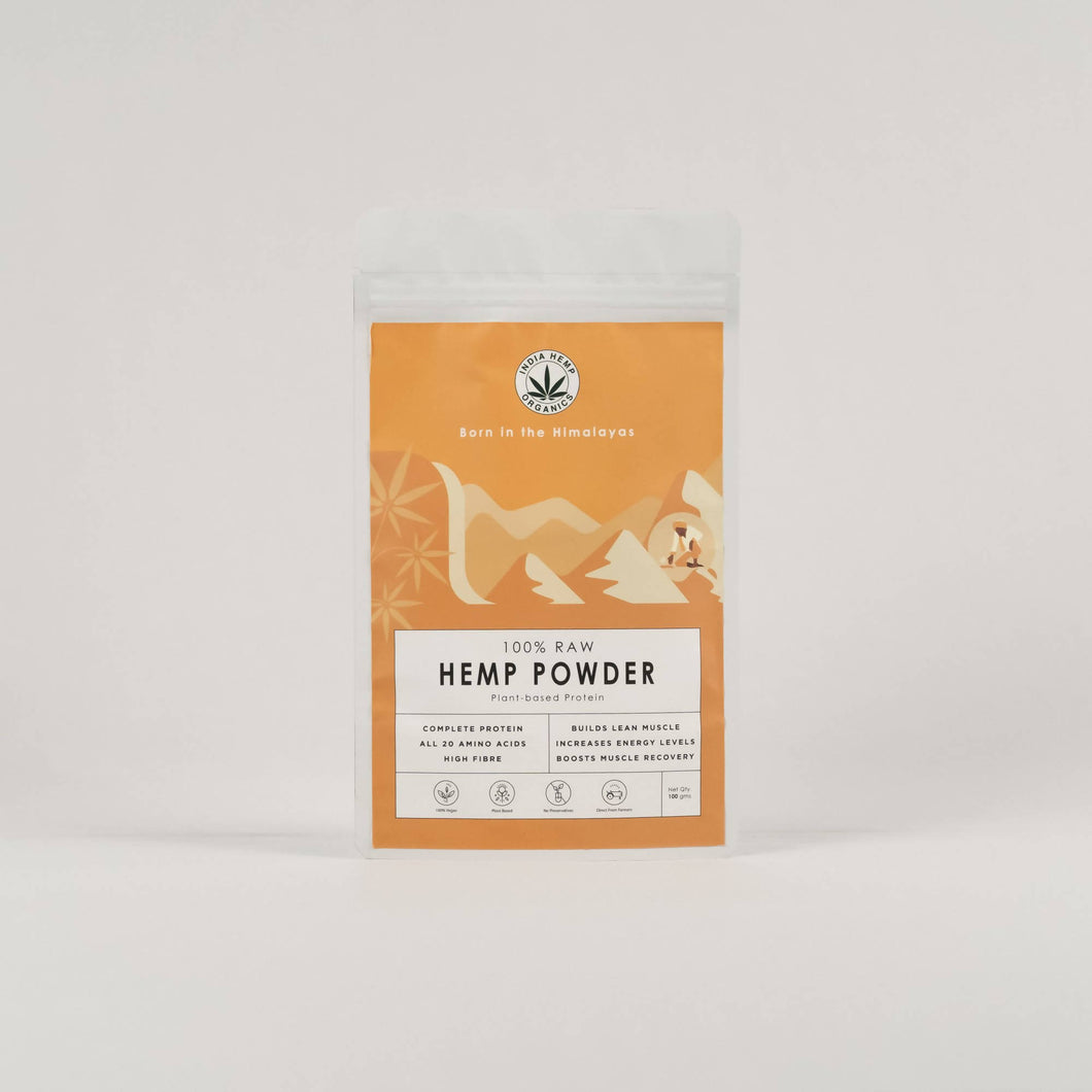 India Hemp Organics Hemp Protein Powder-100g