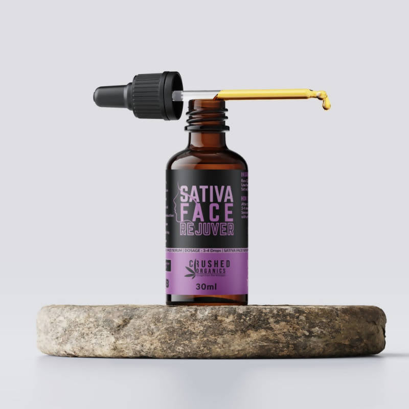 Crushed Organic Sativa Face Rejuvenator 30ml
