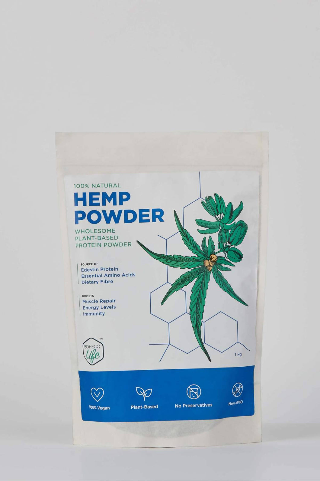 Boheco |  Hemp Seed Powder | 1000gm