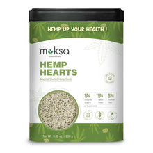 Load image into Gallery viewer, Moksa Hemp Hearts | 250 GM