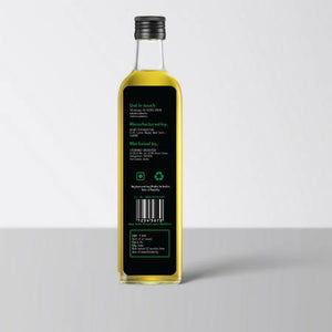 Crushed Organics Hemp Seed Oil - 250ml