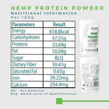 Load image into Gallery viewer, Crushed Organics Hemp Protein Powder - 500gm
