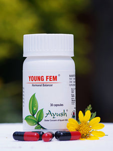 Ayush Herbs Young Fem – Women Hormonal Balancer