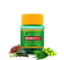 Load image into Gallery viewer, Dr. Vaidya's Herbopile Pills -Ayurvedic Pills for Piles & Fissures - Pack of 2
