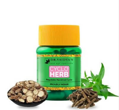 Dr. Vaidya's Cycloherb - For supporting female reproductive health - Pack of 2