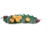 "Julia Knight Holly Sprig 16"" Tray"