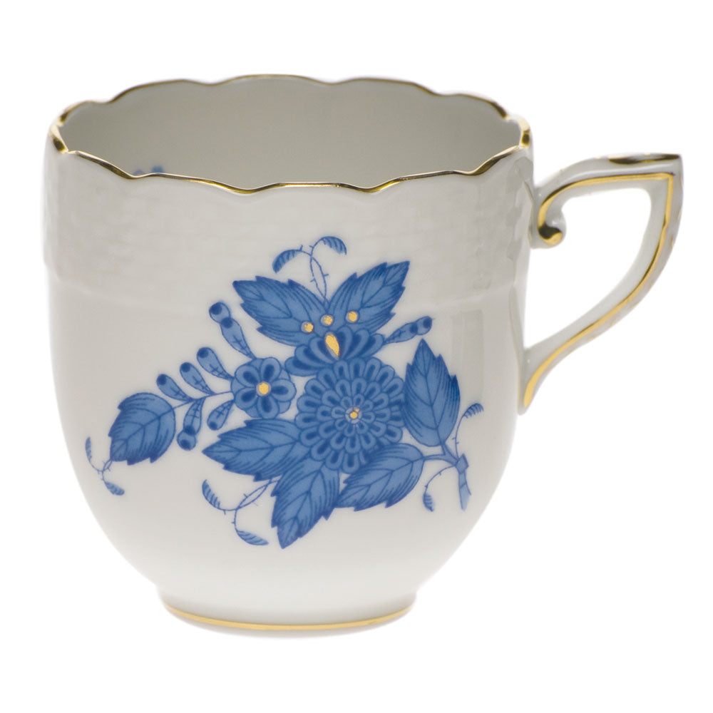Herend Chinese Bouquet After Dinner Cup Blue