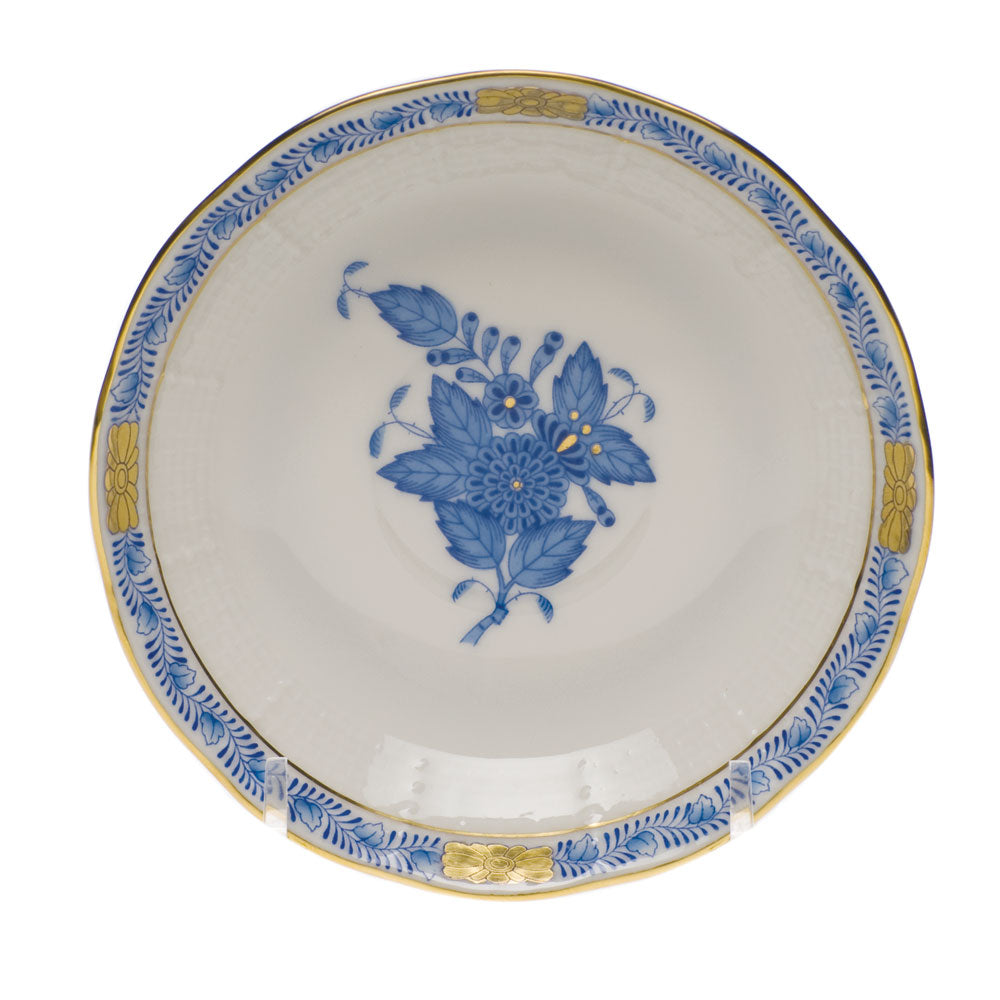Herend Chinese Bouquet After Dinner Saucer Blue