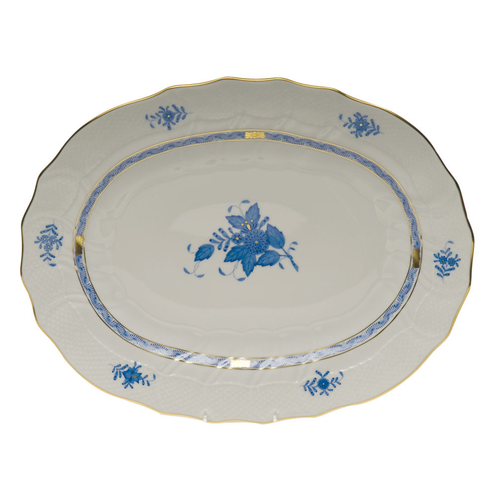 Herend Chinese Bouquet Platter Blue
