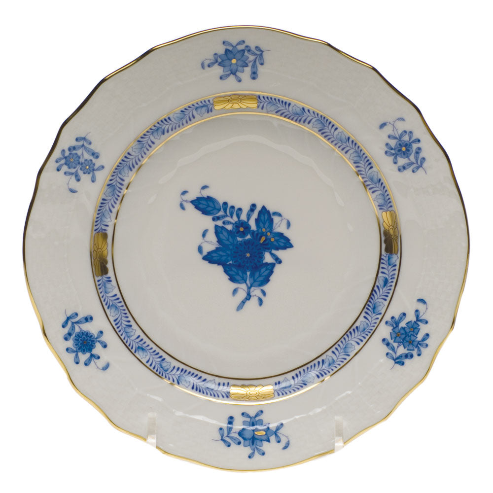 Herend Chinese Bouquet After Dinner Bread & Butter Plate Blue