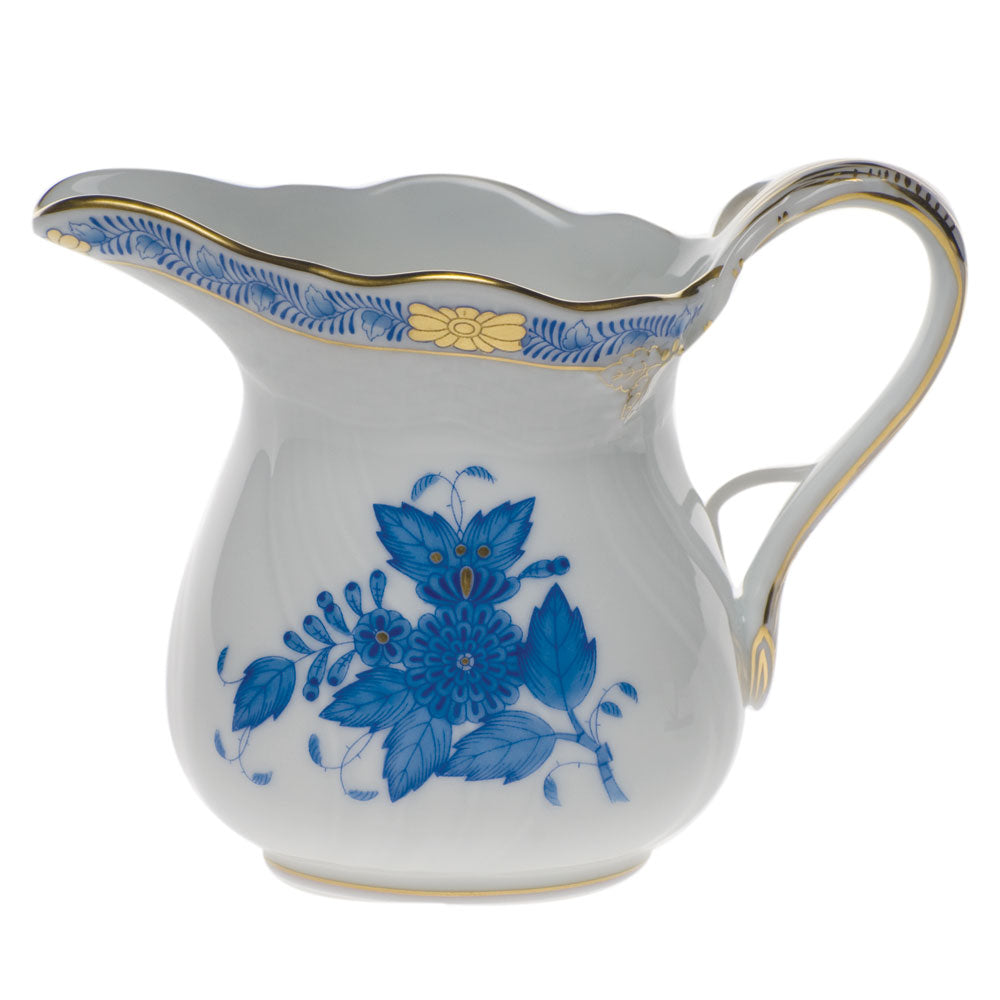 Herend Chinese Bouquet Creamer Blue
