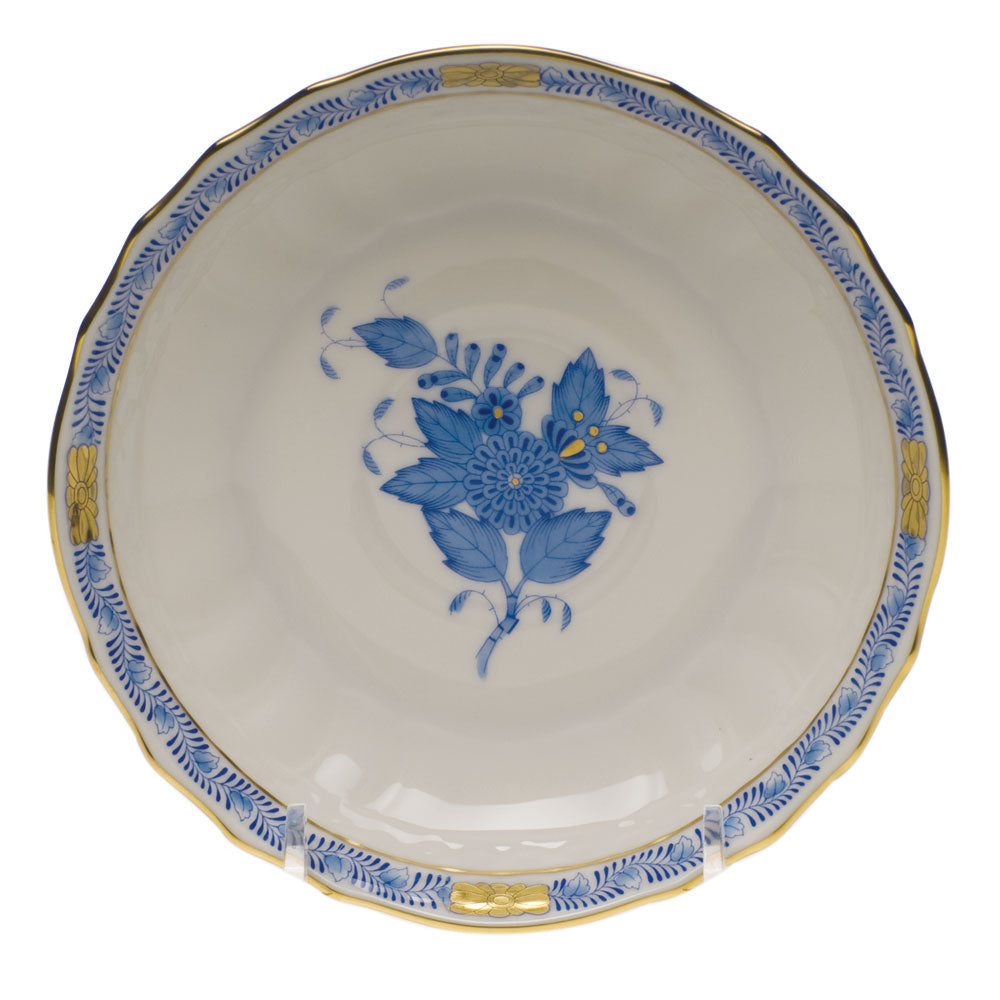 Herend Chinese Bouquet Canton Saucer Blue