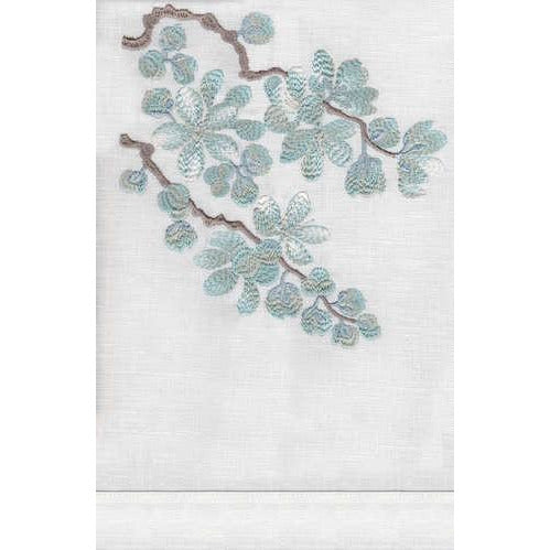 Anali Blossom Linen Guest Towel