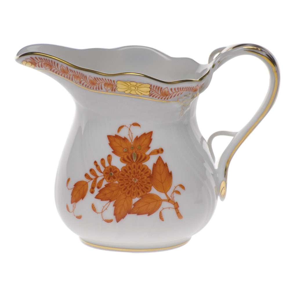 Herend Chinese Bouquet Rust 6oz. Creamer